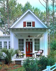 Cottage Of The Year - Coastal Living - Print | Coastal Living House Plans