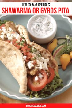 Bring the taste of the Middle East right to your table. Discover how to make the recipes you love to eat at your local food trucks or restaurants at home. #Gyros #Shawarma #ShawarmaRecipe