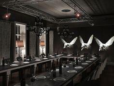 The interior installation by Anna Dyachuk, via Behance