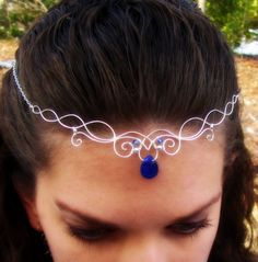Elven Circlet Necklace. I'm too old to wear it, but if I wasn't....:)