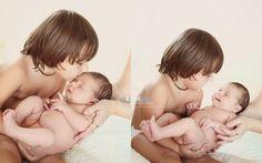 Fam(ily) Photography by Leslie, Newborn Photography, Newborn and brother,sibling photography