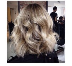 perfect creamy sandy blonde