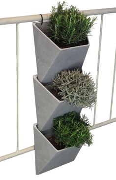 VertVert - rephormhaus deckt den Stadtbedarf: Design Produkte für den Balkon und kleine Wohnungen