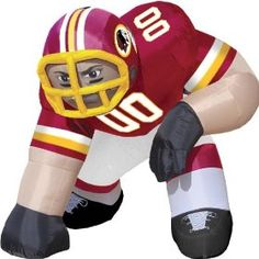 Redskins Bubba Inflatable Lawn Decoration