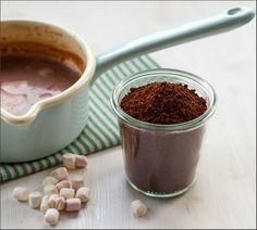 Selbstgemachte heiße Schokolade | Kakao als Geschenk aus der Küche
