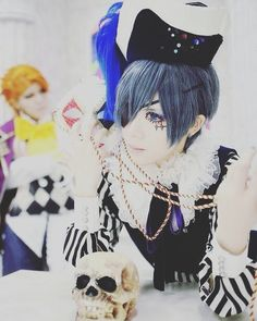 Ciel    [Anime= Kuroshitsuji]    #anime #cosplay #boy #cosplayer #cosplays #cosplayers #animecosplay #animeboy #anime_boy #animeboycosplay #anime_boy_cosplay #kuroshitsuji #ciel #phantomhive #cielphantomhive #cielphantomhivecosplay #blackbutler #black_butler