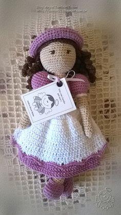 Anjos Também Falam ...: Bonequinha versão lilás ...