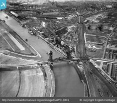 Gallery: Britain from above: Middlesbrough - Teesside Live Old Images, Old Photos, Great North, English Heritage, Middlesbrough, Yorkshire, Over The Years, Britain, City Photo