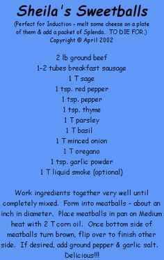 Lots Of Low-carb, Atkins Recipes At Sugar-free Sheila