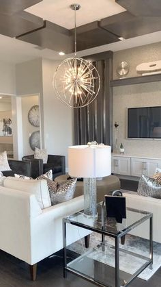Living Room Paint, Small Living Rooms, Living Room Furniture, White Furniture, Living Room Sofa, Living Room Designs, Home Decor Styles, Cheap Home Decor, Diy Home Decor