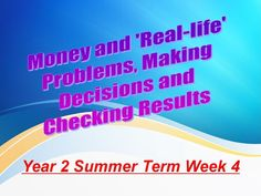 Year 2 Summer Term Week 4 Money and 'Real Life' Problems Learning Objectives, Learning Activities, Teaching Resources, Money Problems, Life Problems, Life S, Real Life, Powerpoint Lesson, Year 2
