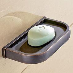 Reasonable Soap Basket Soap Dish Soap Holder Bathroom Accessories Bathroom Fixtures Furniture Modern Bathroom Antique Porcelain Bronze Finish Brass Refreshment
