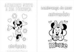 Minnie - Livrinho para Colorir!