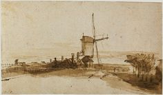 """Rembrandt - """"The Mill on the 'Het Blauwhoofd'"""""""