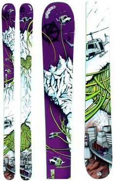 Just look at these amazing k2 skis