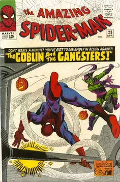 Amazing Spider-Man # 23 by Steve Ditko