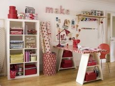 fun craft room ideas
