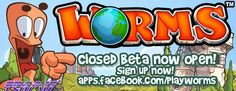Worms Facebook Closed Beta Launches