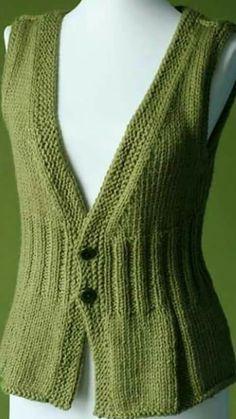 Wyszywanie kamizelek dla niemowląt - picture for you Crochet Baby Dress Pattern, Knit Vest Pattern, Baby Dress Patterns, Knit Crochet, Knitting Machine Patterns, Baby Knitting Patterns, Knitting Designs, Knitting Stitches, Beautiful Models