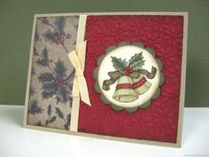 stampin up bells and boughs ideas - Google Search