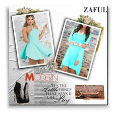 """""""ZAFUL 28"""" by malasirena989 ❤ liked on Polyvore featuring women's clothing, women's fashion, women, female, woman, misses and juniors"""