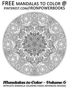 coloring pages of mandala to print mandalas coloringpagesforadults more intricate mandalas at mandalas