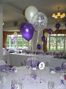 wedding balloon decorations 10 displays hearts design many colours diy kit