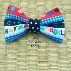 Check out this item in my Etsy shop https://www.etsy.com/listing/243749743/back-to-school-bowtie-bowtie-for-kids