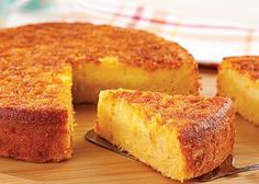 Sample Page - Receitas da Tia Sweet Recipes, Cake Recipes, Dessert Recipes, Sweet Corn Cakes, Brazilian Dishes, Good Food, Yummy Food, Bread Cake, Homemade Cakes