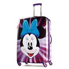 American Tourister Disney Minnie Mouse Face Hardside Spinner 28 Multi One  Size    Visit the 3fdaa5e118592