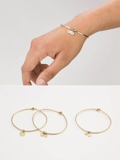A Truly Personalized Bracelet - This bangle gives you the ultimate in customization. Add personalized tags, or gemstones to start building your unique bangle... or create the perfect, personal gift. You can easily add more tags or gemstones over time as your story unfolds. We make