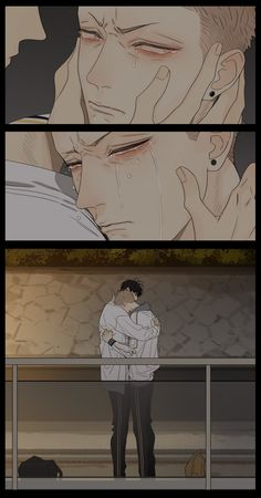"days - Mo & He Tian"" - Edina Mckuirkes Cartoon As Anime, Sad Anime, Manga Anime, Manga Girl, 19 Days Manga Español, Black Anime Characters, Shall We Date, Manhwa Manga, Hot Anime Guys"