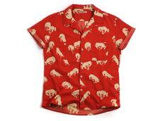 Levis Vintage 1950s Shirt Formula Red Horses | Novoid Plus