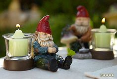 Gnorm - Napping Gnome Votive Holder  #PartyLite : Shop online at www.PartyLite.biz/NikkiHendrix