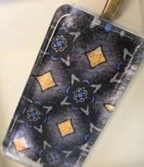 Teagan - Tie Style Glass Tile Pendant