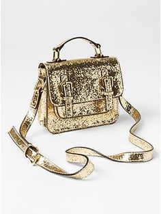 Kate Spade New York ♥ GapKids glitter satchel - Visit unexpected places and imagine your way to holiday. Shop our limited time Kate Spade New York & JACK SPADE ♥ Gap collection of new favorites and perfect gifts. Dress to play.
