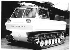 Hotchkiss Arctic exploring vehicle