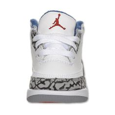 Boys' Toddler Air Jordan Retro 3 Basketball Shoes (€30) ❤ liked on Polyvore featuring shoes and jordans