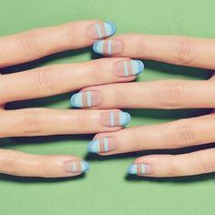 New #Monday, new #mani! Via @totalbeautyeditors #manicure #nailart #nailswag #nails
