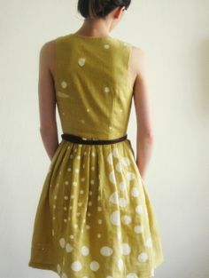 Simplicity 2215 in Nani Iro Woodblock Pocho :: Audrey Makes