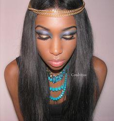 Halloween look 2013: Cleopatra makeup