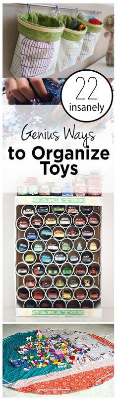 How to Organize Toys, Unique Ways to Organize Toys, ORganization TIps, Keeping Kids Organized, Organizing Kid Toys, Playroom Organization, Playroom Organization Hacks, How to Keep Your Playroom Organized
