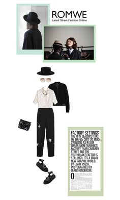 Untitled #307 by tamara-40 on Polyvore featuring T By Alexander Wang, Jonathan Saunders, Marni, Yves Saint Laurent, Le Specs and romwe