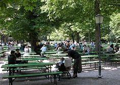 Beer garden - Biergarten - That's so typical! Come and enjoy.