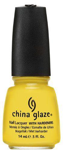 China Glaze Nail Polish Sunshine Pop 05 Fluid Ounce -- Want additional info? Click on the image.