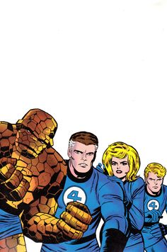 The  Fantastic  Four  by  Jack  Kirby  ( 1965 )