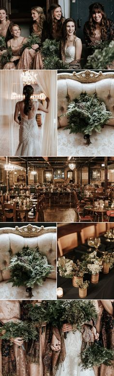 Featured FiftyFlowers Review: Industrial Winter Wedding | FiftyFlowers the Blog