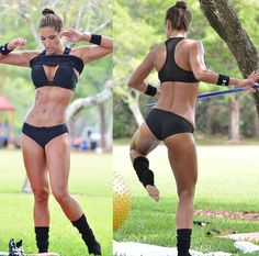 Click on the article to read Jennifer's inspiring goal to lose weight and become a fitness model.