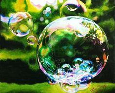 Mesmerizing Still Life on Watercolor Paintings - Tan Lie Cieng Learn Watercolor Painting, Watercolor Drawing, Artist Painting, Painting & Drawing, Pastel, Fractal Art, Art Tutorials, Painting Inspiration, Original Art