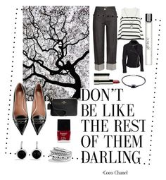 """""""BLACK AND WHITE"""" by cindy-yoder-witty on Polyvore featuring Michael Kors, RED Valentino, Cardigan, David Yurman, Clinique, Coach, Butter London, philosophy and plus size clothing"""
